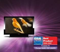 Pioneer KURO PDP-LX6090 EISA award